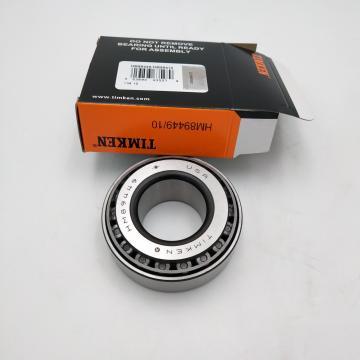 10.236 Inch | 260 Millimeter x 14.173 Inch | 360 Millimeter x 2.953 Inch | 75 Millimeter  TIMKEN 23952YMW33  Spherical Roller Bearings